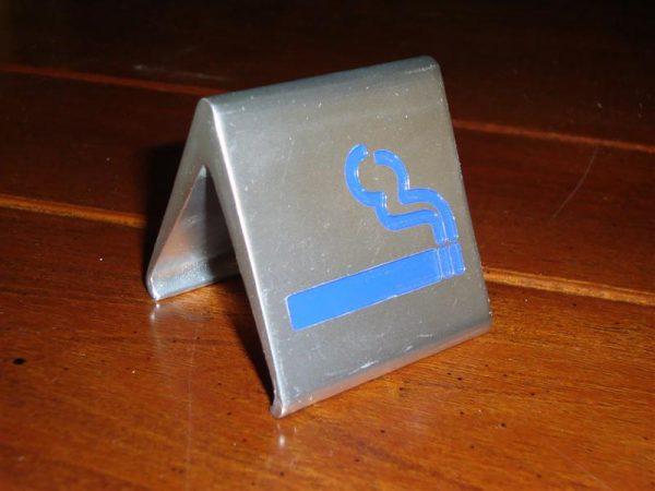 Tafelnummer Bistro met symbool
