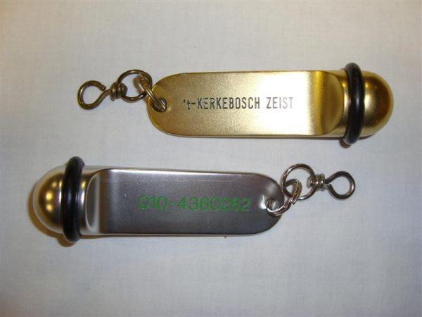 Sleutelbal Pullman in goud en zilver